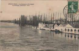 CPA 16 ANGOULËME La Charente à St Cybard - Inondations, Décembre 1907 - Angouleme