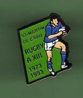 RUGBY XIII *** SAINT MARTIN DE CRAU *** 0045 (29) - Rugby