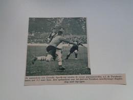 "Origineel Knipsel ( 7030 ) Uit Tijdschrift ""  De Stad "" 1936 : Voetbal  Football    Liersche ( Lier ) - Turnhout - Non Classés"