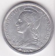 ILE DE LA REUNION. 1 FRANC 1971 . ALUMINIUM - Réunion