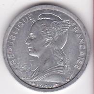 ILE DE LA REUNION. 1 FRANC 1948. AILE. ALUMINIUM - Réunion