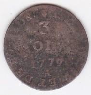 ISLES DE FRANCE ET BOURBON. 3 SOLS 1779 A. LOUIS XVI - Réunion