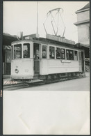 Photo Format 140 X 92 - Suisse - Lausanne ? - Tramway Ligne 6 Gare CFF - See 2 Scans - Tram
