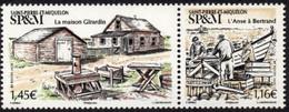 St Pierre Et Miquelon 2020 - Maison Girardin - 2 Val Neufs // Mnh - Neufs