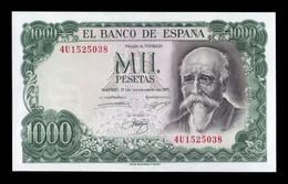 España 1000 Pesetas José Echegaray 1971 Pick 154 SC UNC - [ 3] 1936-1975 : Regime Di Franco