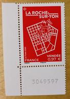 2020 - Y/T N° 5419 - LA ROCHE-SUR-YON - Vendée -  Neuf ** - BDF - Nuevos