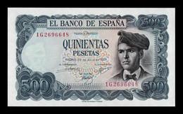 España Spain 500 Pesetas Jacinto Verdaguer 1971 Pick 153 SC UNC - [ 3] 1936-1975 : Regime Di Franco