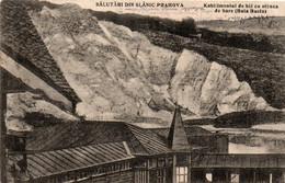 Romania 1924, Slanic Prahova, Baths And Salt Rock - Roemenië