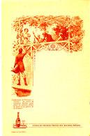 MENU PUB- CURACAO  ORANGE TRIPLE SEC ROCHER FRERES  ( 18,50 Cm X 12,00 Cm) - Menus