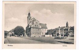 PL-174  WOHLAU : Rathaus - Schlesien
