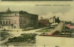FRANCAVILLA FONTANA - LATERALE PALAZZO DI CITTA - SPEDITA 1913 (BG5899) - Brindisi