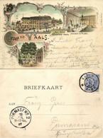 Nederland, VAALS, Kur-Hotel Kirchfeld, Inhaber A. Pilartz (1897) Ansichtkaart - Vaals