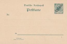 Deutsches Reich Kolonien China Postkarte P5-1 1899 - Kantoren In China