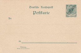 Deutsches Reich Kolonien China Postkarte P5-II 1899 - Kantoren In China