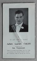 Julien Lucien Calus °Ruddervoorde 04-06-1938 En †St.Georges Canada 13-09-1958 X Lea Vermeersch - Religion & Esotérisme