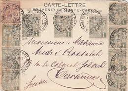 Monaco Lettercard 1906 - Monaco