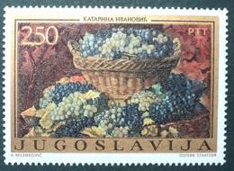 1972 Yugoslavia Mnh -  Uva Raisin Grapes Grape Traube - Painting Tableau - Ohne Zuordnung