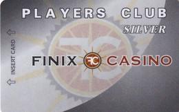 NORTH MACEDONIA - Finix Casino(dark Grey), Silver Member Card, Used - Casinokarten