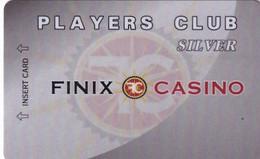 NORTH MACEDONIA - Finix Casino(light Grey), Silver Member Card, Used - Casinokarten