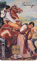 MEXICO - Galas De Mexico/El Gavilan Pollero(3/4), Mouseo Soumaya/Painting/Eduardo Catano, Calendar 2000, Chip OB1, Used - Pittura