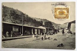 C. P. A. : GUATEMALA : Calle En ALMOLONGA, Sello En 1926 - Guatemala