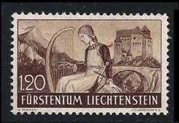 LIECHTENSTEIN 1937 /38 - Castello Di Gutenberg - N. 151 ** Singolo - Cat. 40 € - Lotto 446 - Unused Stamps