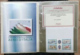 ITALIA AEREI: FOLDER BOLAFFI - Lotti E Collezioni
