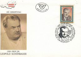 Leopold Schönbauer War Ein österreichischer Chirurg Und Krebsforscher. Begründer Neurochirurgie - 3842 Thaya - Medicina