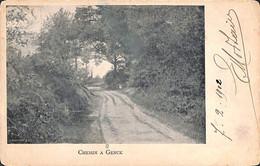 Chemin à Genck Genk (1902) - Genk