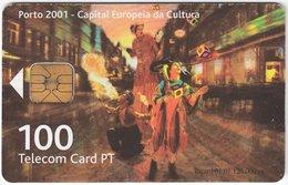 PORTUGAL B-081 Chip Telecom - Event, Culture - Used - Portugal