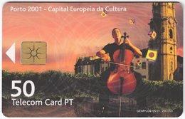 PORTUGAL B-087 Chip Telecom - Event, Culture - Used - Portugal