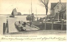 Dordrecht Wieldrecht Veerpont OUD! (1904) 3572 - Dordrecht