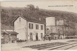 Laneuville-Saint-Joire  55   La Gare Interieure Et Le Quai Animé - Other Municipalities