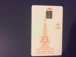 TELECARTE GAMBIE  *60 Units  GAMTEL - Gambia