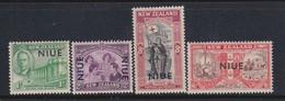 Niue 1946 Mi.No. 71 - 74  Second World War WWII NEW ZEALAND OVERPRINTED Horses Sheeps 4v  MNH \ MLH 1,20 € - Fattoria
