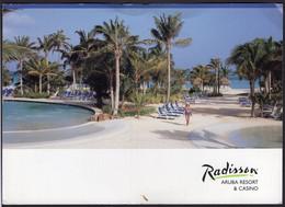 Antillas - Tarjeta Postal - Aruba - Hotel Radisson - Circa 1980 - No Circulada - A1RR2 - Aruba