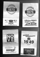 Tovagliolino Da Caffè - Lotto 4 Pezzi  N. 04 - Tovaglioli Bar-caffè-ristoranti