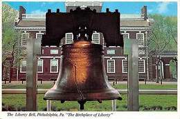 "USA The Liberty Bell, Philadelphia, Pa. ""The Birthplace Of Liberty"" - Estados Unidos"
