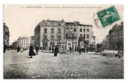 (42) 195, Saint St Etienne, Place Fourneyron, Route De Saint-Chamondn Avenue De La Gare, Tramway - Saint Etienne