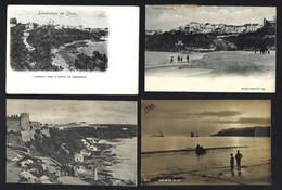 Conjunto De 4 Postais Antigos SINES. Lot Of 4 Old Postcards SETUBAL Portugal - Setúbal