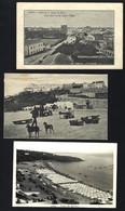 Conjunto De 3 Postais Antigos SINES. Lot Of 3 Old Postcards SETUBAL Portugal - Setúbal