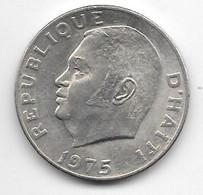 Haiti 50 Cents 1975 Km 101a  Xf+/ms60 - Haïti