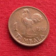 Malawi 1 Tambala 1987 KM# 7.2a  *V2 - Malawi