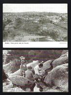 Conjunto De 2 Postais Antigos De MIDÕES Aguas Medicinais + Lado Poente. Set Of 2 Old Postcard (Tabua / Coimbra) PORTUGAL - Coimbra