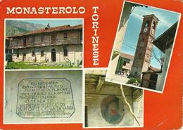 "9190 ""MONASTEROLO TORINESE "" 4 VEDUTE -CART. POST. ORIG. NON SPEDITA - Sin Clasificación"