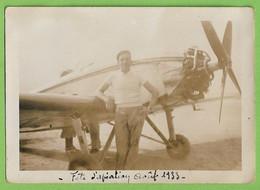 France - REAL PHOTO - Festa De Aviação Em 1933 - Avião - Aeroporto - Airplane - Plane - Airport - Aviation - Avion - Sin Clasificación