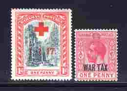 Bahamas 1917/1918, N°52*,63* Neufs* B/TB 0,40 € (cote 1,85 € 2 Valeurs) - 1859-1963 Kronenkolonie