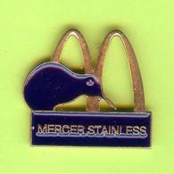 Pin's Mac Do McDonald's Mercer Stainless - 8C08 - McDonald's