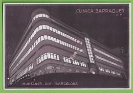 Barcelona - Clinica Barraquer - Blotter - Buvard - Mata-Borrão - Comercial - Publicidad - Advertising - España - Blotters