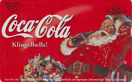 AUSTRIA - CHRISTMAS SANTA COCA COLA -  PERE NOEL - Télécarte Magnétique L&G Phonecard AUTRICHE - Weihnachten